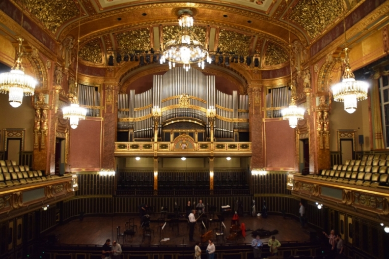 "Academia de Muzica ""Ferenc Liszt"" din Budapesta. Foto: Claude Mandraut"